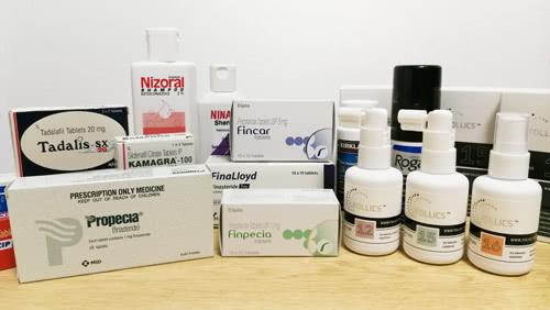 オオサカ堂の通販で購入した育毛剤とED薬